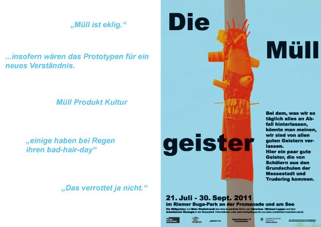 Plakat Müllgeister