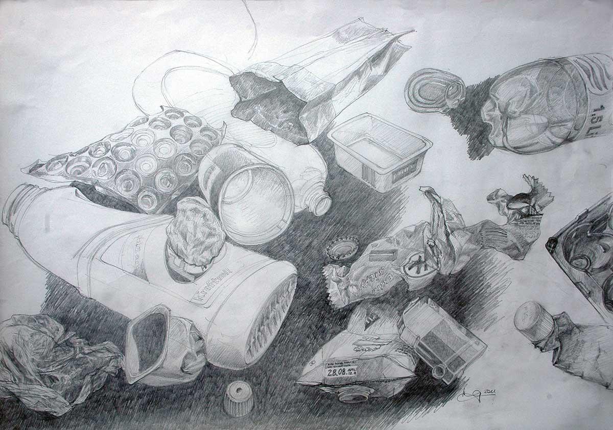 Müllskizze